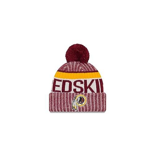 New Era Men s Men s Redskins 2017 Sideline Official Sport Knit Hat 0377299c9b41
