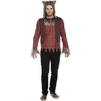Halloween Adulto Hombre Lobo Disfraz: Amazon.es: Ropa y accesorios