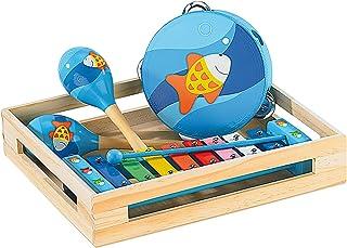 Playtastic Xylophon Kinder: Fröhliches Instrumente-Set für kleine Musikanten (Musikinstrument)