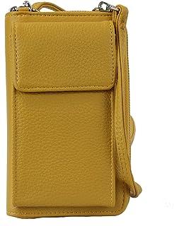 irisaa Kleine Handy Umhängetasche, Geldbörse Damen Brieftasche RFID Schutz Crossbody Handytasche Reisepass mit Kartenfäche...