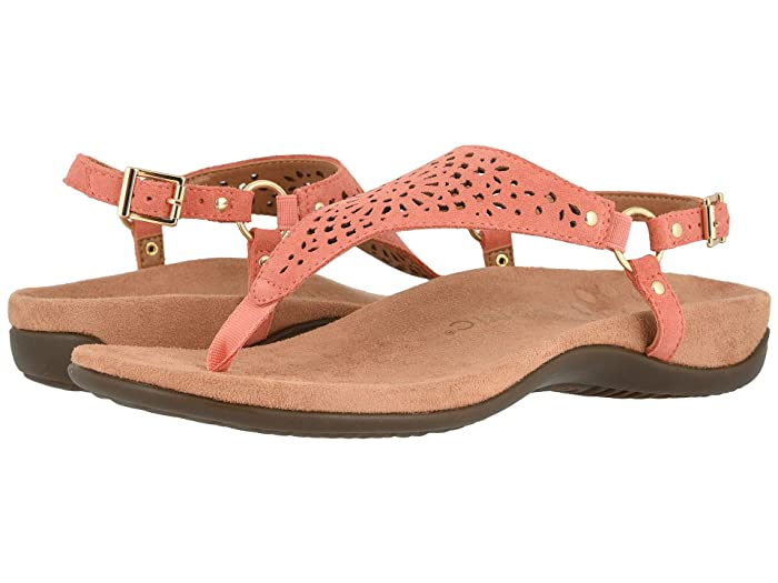 VIONIC  Kirra Perf (Coral Suede) Womens  Shoes