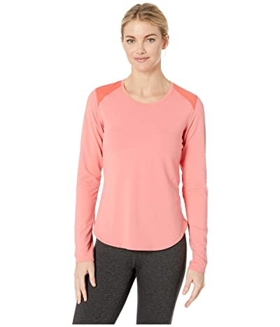 Columbia Saturday Trailtm Knit Long Sleeve Shirt (Coral Bloom/Red Coral) Women