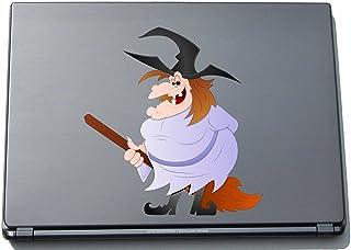 pinkelephant Naklejka na laptopa Notatnik Witch - Hexe 150 x 142 mm