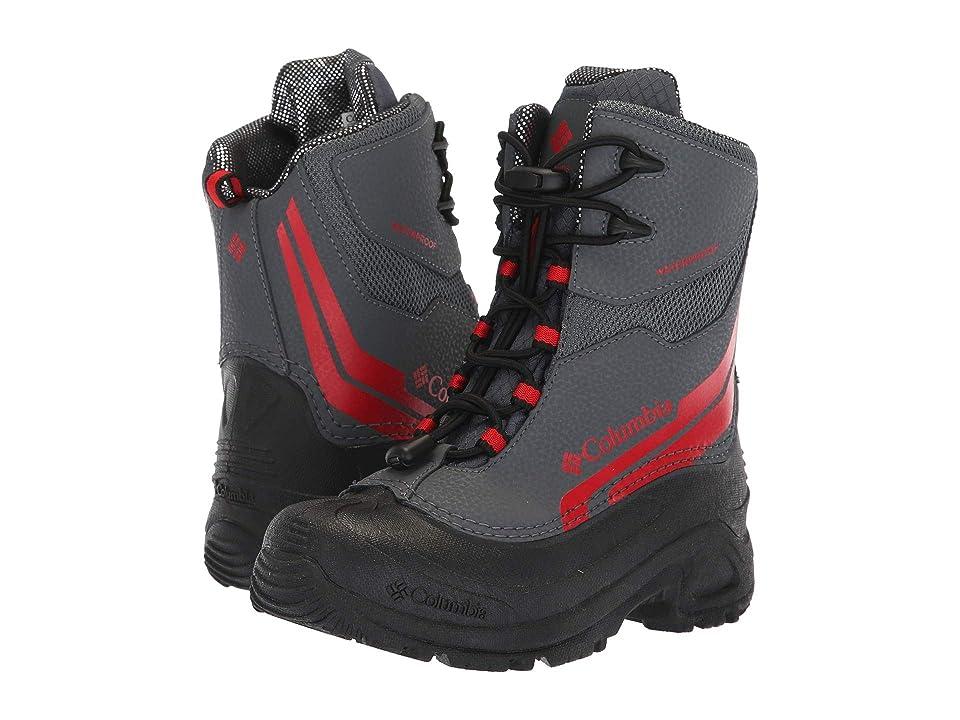 Columbia Kids Bugaboottm Plus IV Omni-Heattm (Little Kid/Big Kid) (Graphite/Bright Red) Boys Shoes