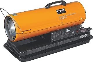 Dayton 3VE48 Oil Fired Heater, 45 K BtuH 120 V