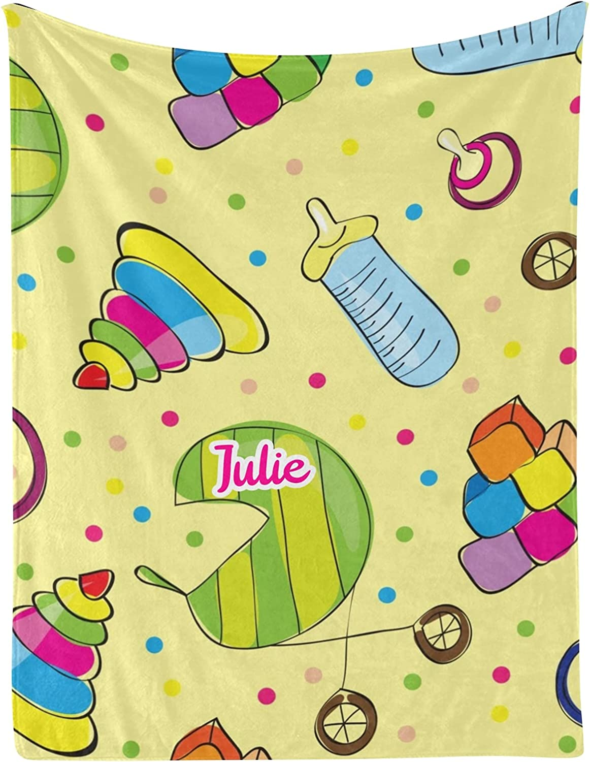 Toys Baby Limited Special Price Carriage Max 82% OFF Dot Personalized Blankets 30x4 with Name