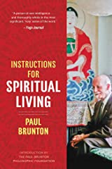 Instructions for Spiritual Living Kindle Edition