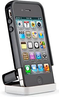 Speck Products CandyShell Flip Case for iPhone 4/4S - 1 Pack - Carrying Case  - Black/Dark Grey