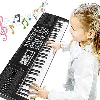 Digital Music Piano Keyboard 61 Key - Portable Electronic Mu
