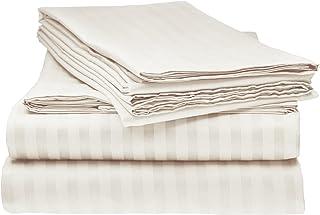 Elaine Karen Collection Bed Sheet Set – 1800 Luxury Soft Microfiber Hypoallergenic Deep Pocket 4-Piece Bedding Set - Wrink...