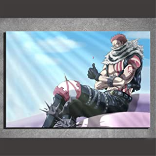 NATVVA Canvas Prints Wall Art Anime Charlotte Katakuri Posters Painting Modern Wall Decor Art Picture Gifts Artwork Home Decor Artwork for Living Room Bed Room Wall Decoration No Frame