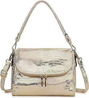 PJRYC Winterfrauen Handtaschen, Umhängetaschen, schlangenförmige Leder schlangenförmige Damen kleine Handtaschen, Damen Br...