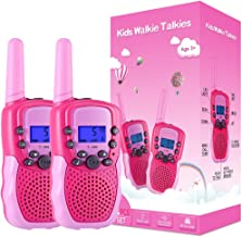 Selieve Toys for 3-12 Year Old Girls, Walkie Talkies for Kids 22 Channels 2 Way Radio Toy..