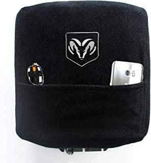 Seat Armour KADGRBSO04-14 Custom Fit Center Console Cover for Select Dodge Ram Models with Bucket Seats - (Black) (Officia...