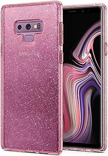 Spigen Liquid Crystal Glitter designed for Samsung Galaxy Note 9 cover/case - Rose Quartz