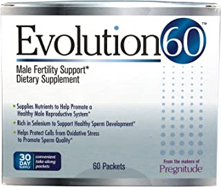 Evolution60 Male Fertility Support (60 Single Serving Packets)