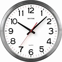 Rhythm Value Added Wall Clock Silent Silky Move [42.0x42.0x4.2cm]