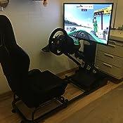 Fk Automotive Game Seat Spielsitz Für Pc Und Spielekonsolen Stoff Schwarz Games
