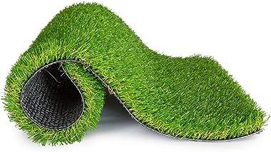 Hand Tex Home 25mm Artificial Grass Size 40x60cms (15x23inch)