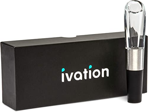 2021 Ivation Wine Aerator in Gift Box – Premium Wine lowest Aerating Pourer Spout Decanter Gadget with Gift popular Box – 1 Pack sale