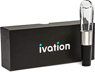 Ivation Wine Aerator in Gift Box – Premium Wine Aerating Pourer Spout Decanter Gadget with Gift Box – 1 Pack