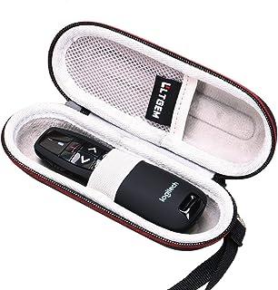LTGEM EVA Étui rigide pour Logitech Wireless Presenter R400 / R800 présentateur sans fil de présentation avec pointeur laser