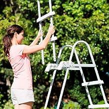 Intex - Escalera de Seguridad para Piscina, 107 cm