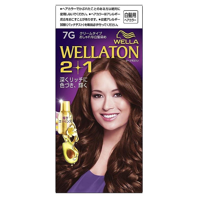 パラシュート良い大量ウエラトーン2+1 白髪染め クリームタイプ 7G ×6個