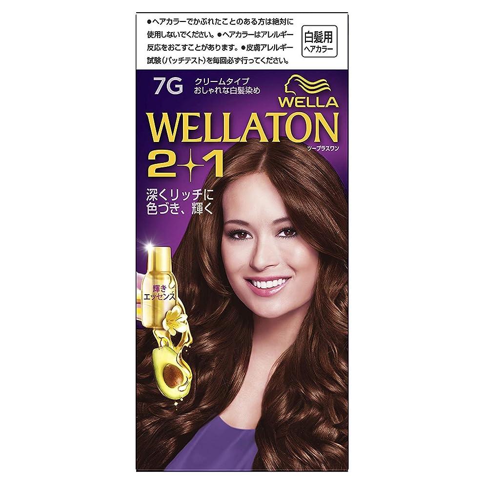 バレル舗装彼女のウエラトーン2+1 白髪染め クリームタイプ 7G ×6個