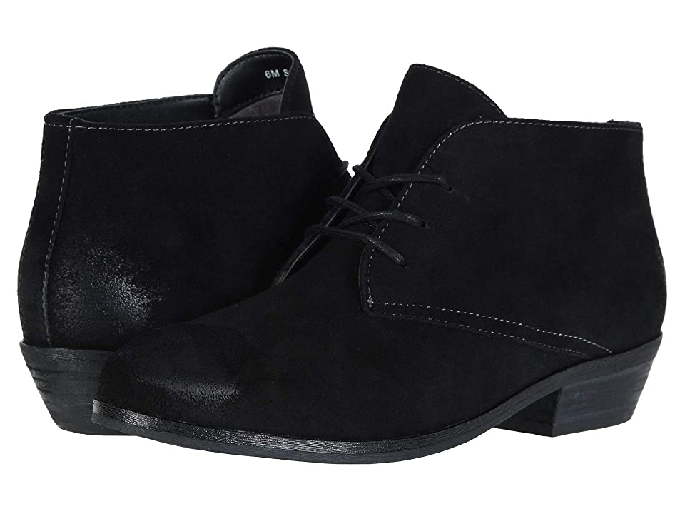 SoftWalk Ramsey (Black Cow Suede Leather) Women