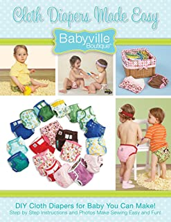 Babyville Boutique 35076 Book, Cloth Diapers Made Easy