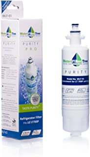 WLF-01 - LG Refrigerator Replacement Water Filter for LG LT700P, Kenmore 46-9690, ADQ36006101, ADQ36006101-S, ADQ36006102, ADQ36006102-S, 048231783705
