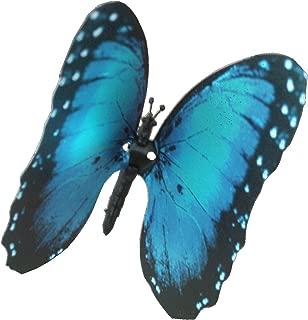 Elegant Aliforms Blue Morpho - (Morpho Hyacinghus), Animated Blue Morpho Butterfly with moving wings