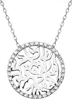 Jewish Jewelry Hebrew Shema Israel Sterling Silver Pendants for Women