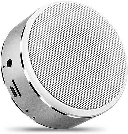 SHA Altoparlante Bluetooth Musica Stereo Mini Altoparlante Bluetooth Altoparlante Hi-Fi Wireless Subwoofer Altoparlante Supporto Audio Tf Aux USB 85Mm * 37Mm Argento - Trova i prezzi più bassi