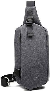 Adesign Sac à bandoulière, sac à bandoulière, sac à dos, sac à dos, sac à dos décontracté pour femme, homme, sport, gym, r...
