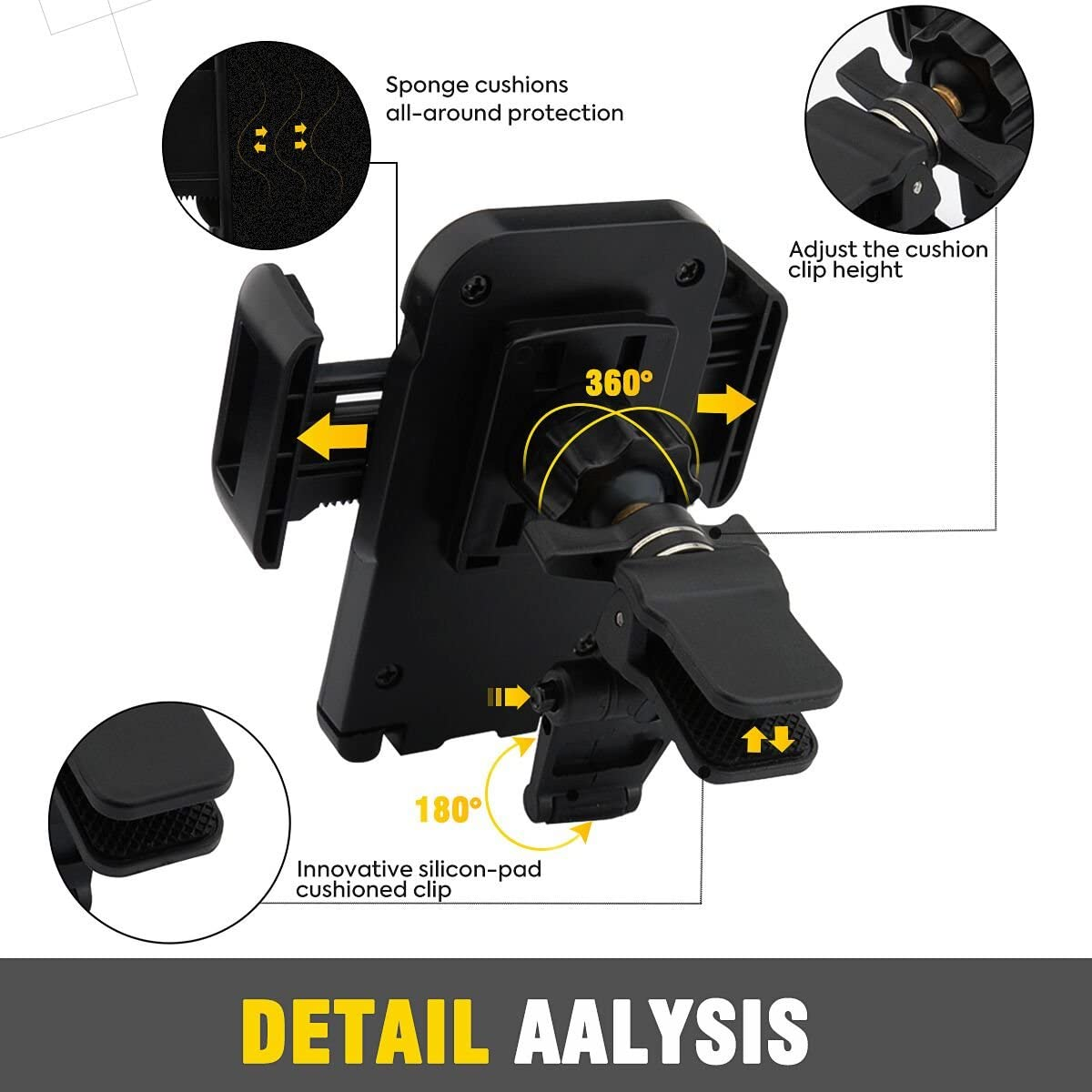 OTEMIK detail analysis of phone holder