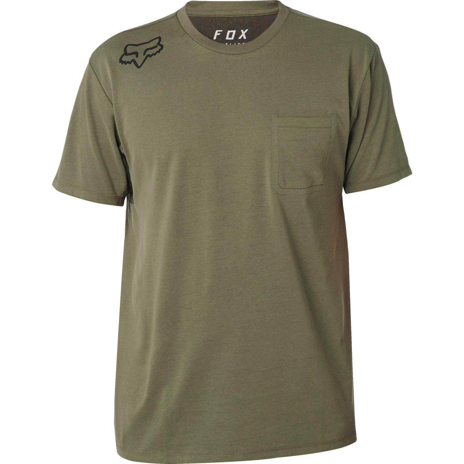 Fox Redplate 360 Airline - Camiseta (Talla M), Color Verde: Amazon.es: Coche y moto