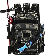 Thekuai Fishing Tackle Backpack Storage Bag Outdoor...