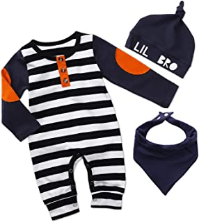 ZOELNIC Baby Girls Skirt Set One 1st Birthday Short Sleeve Romper + Tutu Dress + Headband Outfits