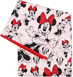 Bumkins Disney Minnie Mouse Splat Mat, Waterproof, Washable for Floor or Table, Under Highchairs, Art, Crafts, Playtime - 42x42