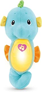 Fisher-Price DGH78 Soothe & Glow Seahorse, Blue