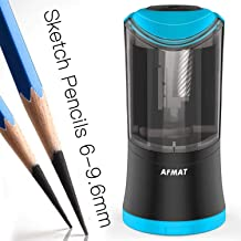Colored Pencil Sharpeners Battery Operated-USB/&Electrical Pencil Sharpener for Artists,Electric Helical Blade Personal Pencil Sharpener for Corded No.2/&Colored Pencils for Kids,Students,Classroom,Blue