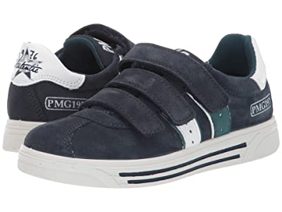 Primigi Kids PUA 43753 (Little Kid) (Navy/White) Boy