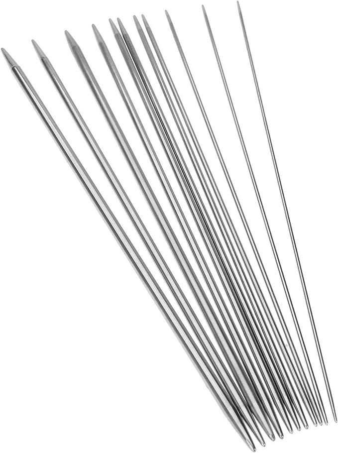 sizes 2-10.5 BrySpun knitting needles 10 inch single point