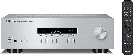 Yamaha R-S202D - Receptor estéreo, 115 W, Plateado