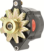 Powermaster 8-57140 Alt Ford Upgrade Black 150A Smooth Look 6 grv Pulley 1-Wire