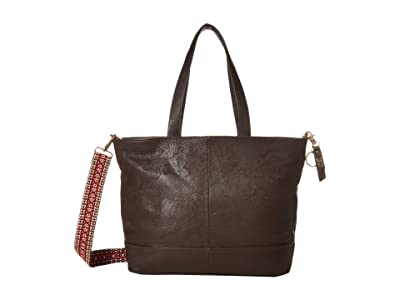 FRYE AND CO. Piper Tote (Chocolate) Handbags
