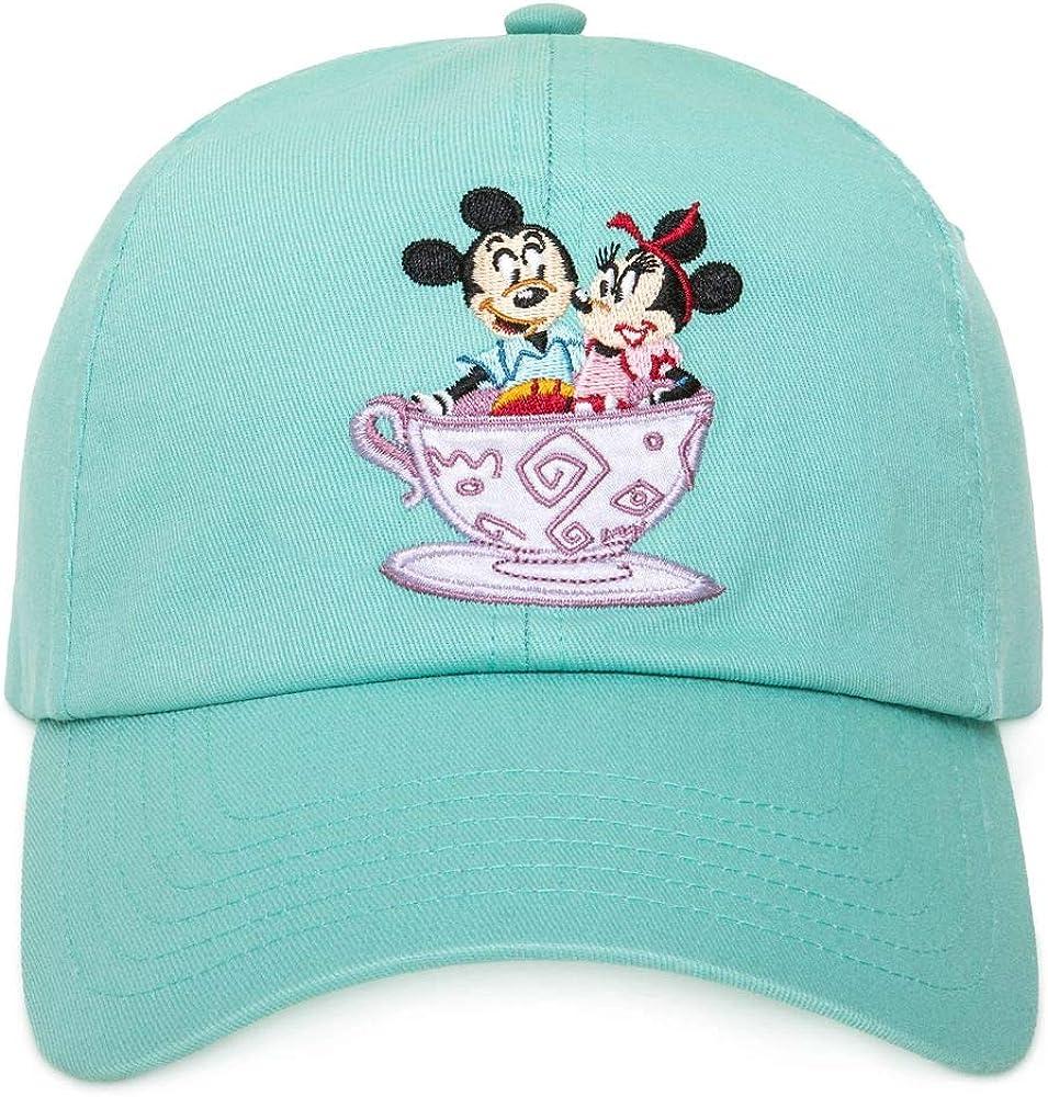 Hats Disney Parks Mickey Minnie Mouse Mad Tea Party Baseball Cap