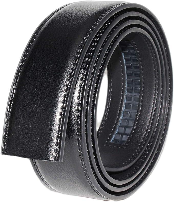 12 opinioni per Cintura Da Uomo in Pelle Con Fibbia Automatica, Moda Cintura a Cricchetto 3.5cm